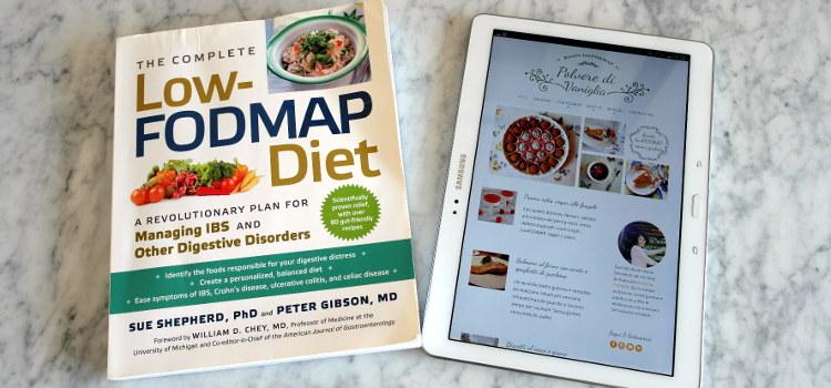 Libro sulla dieta low FODMAP di Sue Shepherd