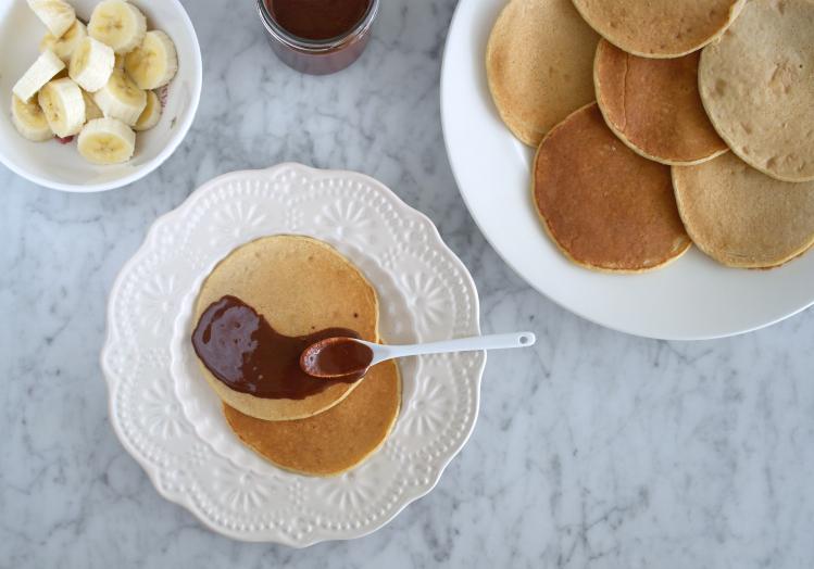 pancake farina avena