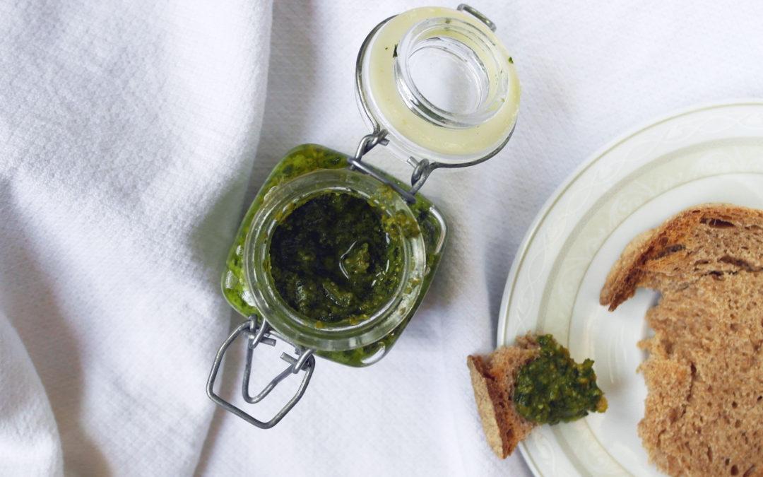 Pesto al basilico (come piace a me)