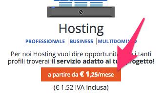Registra un hosting con Netsons