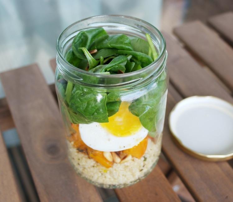 insalata quinoa barattolo