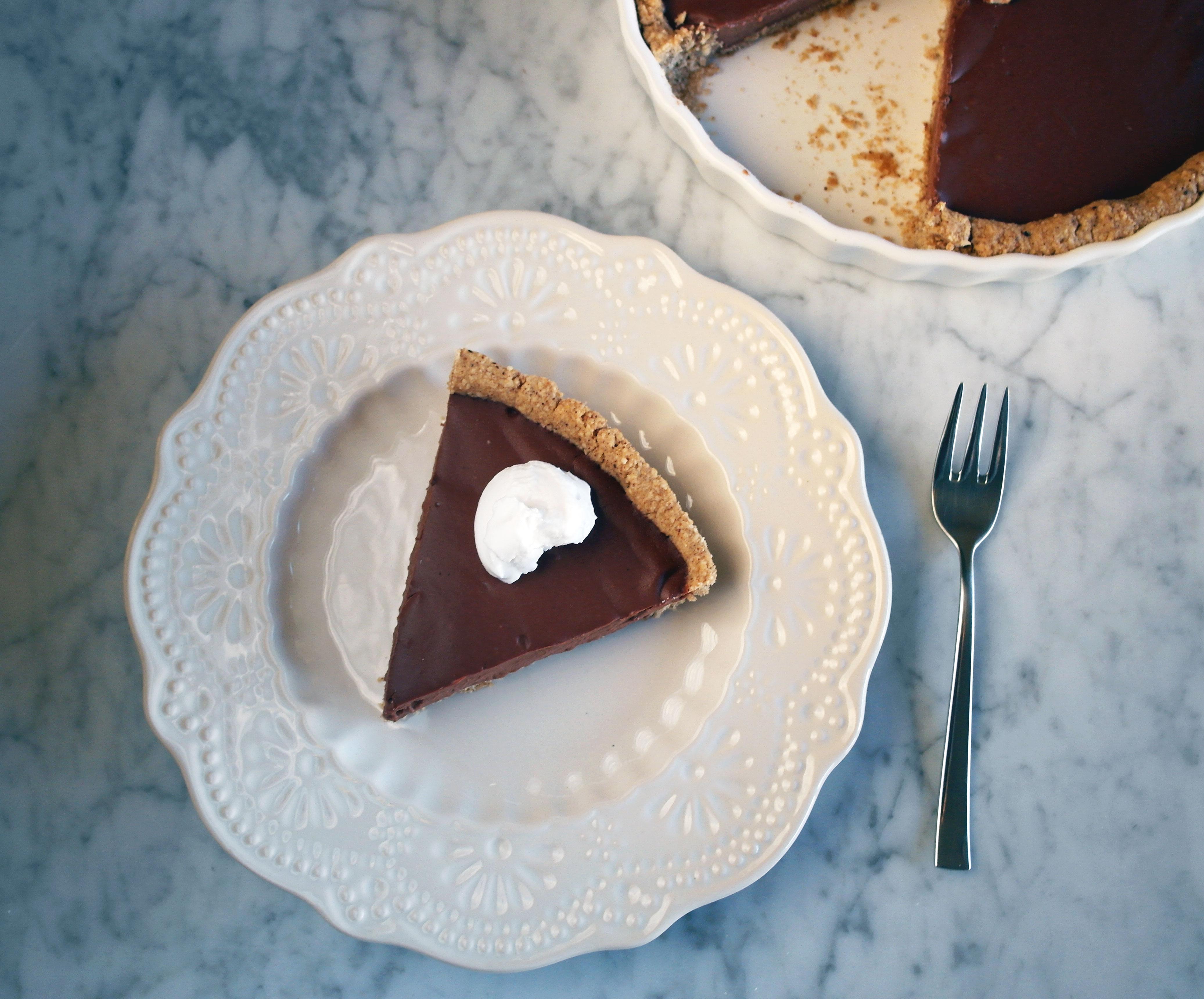 crostata cioccolato vegan