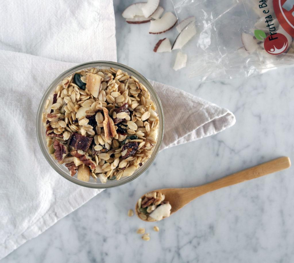 granola frutta e bacche