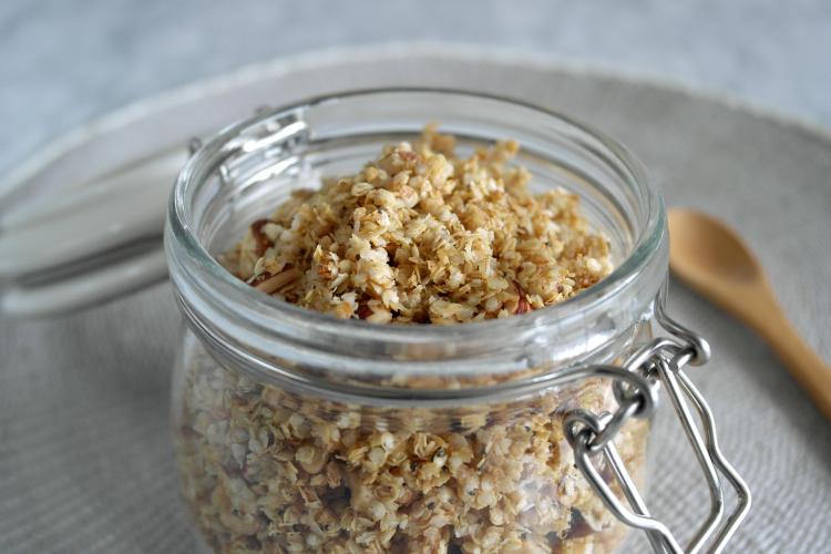 Muesli di fiocchi di quinoa