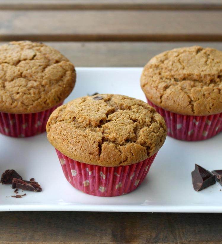 muffin cioccolato zucca