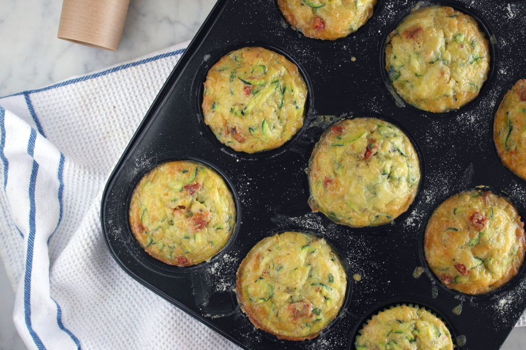 muffin salati vegetariani