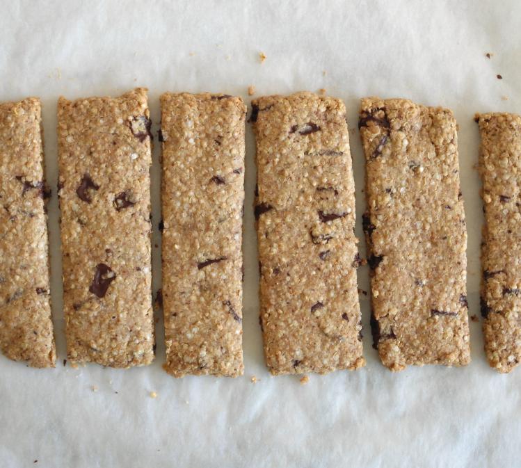 barrette quinoa cioccolato