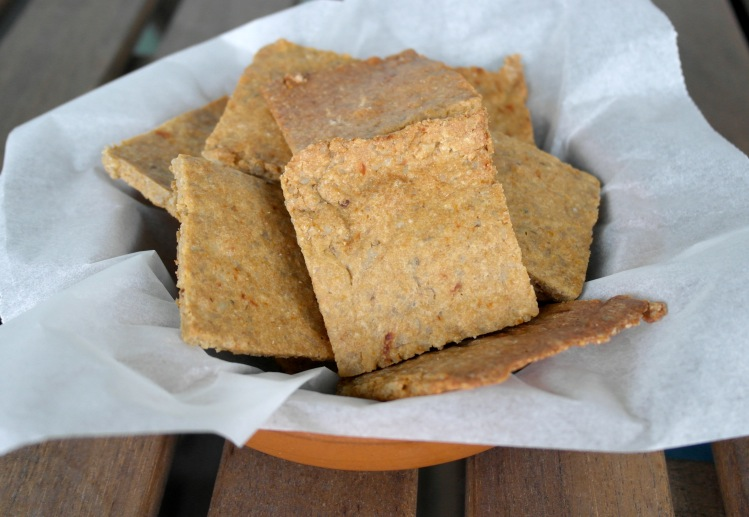 crackers senza farina