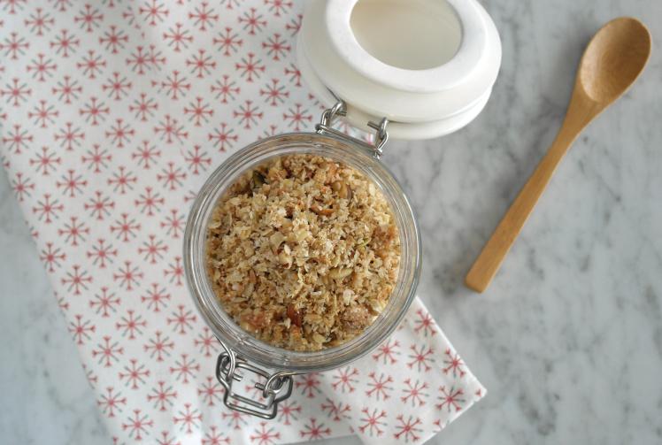 muesli di cocco e grano saraceno