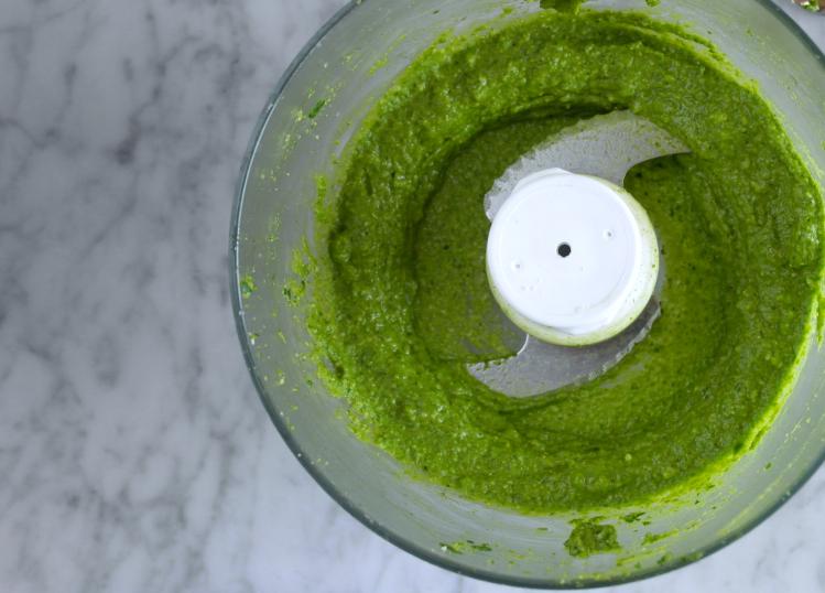 pesto spinaci low fodmap