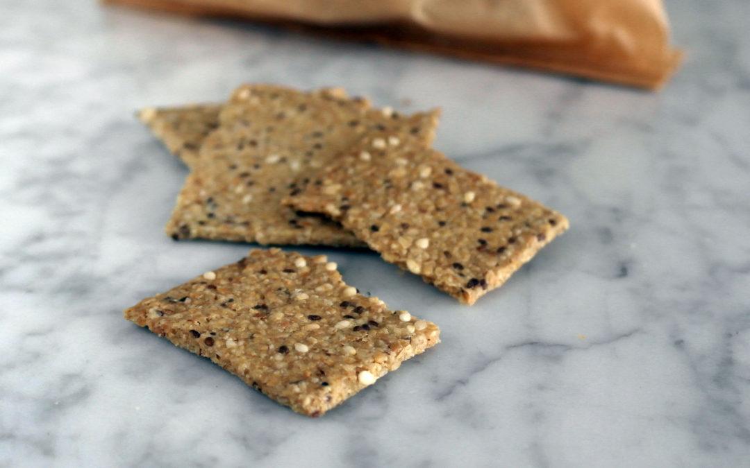 Cracker di avena e semini